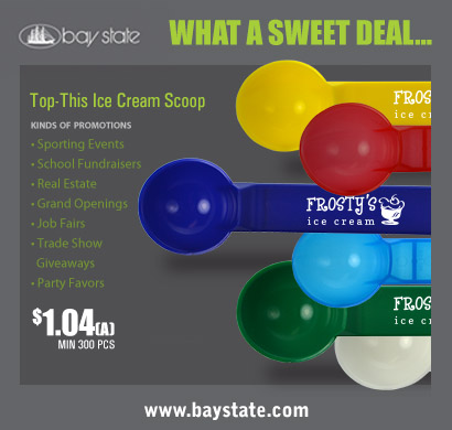 You scream, I scream, we all scream for Bay State Ice Cream Scoops!