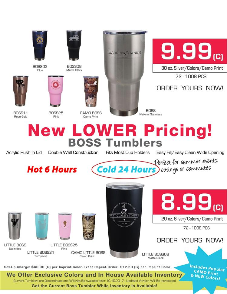 PromoOffers - Tumblers from Allen/ColorCraft/Camelbak® line