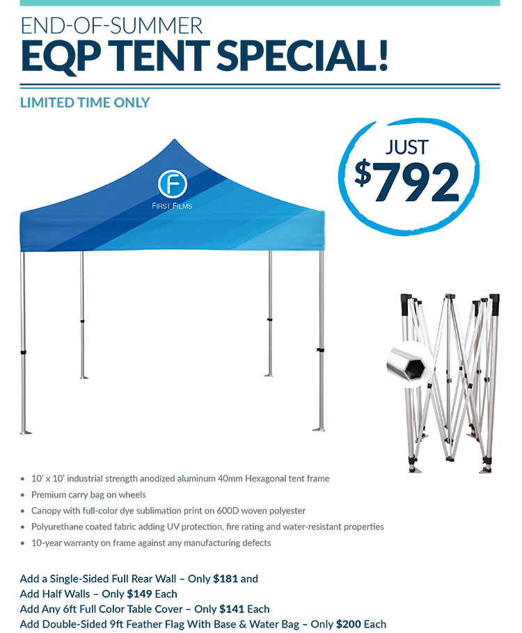 PromoOffers - Tents from Discount Marketing Products ASI/49891