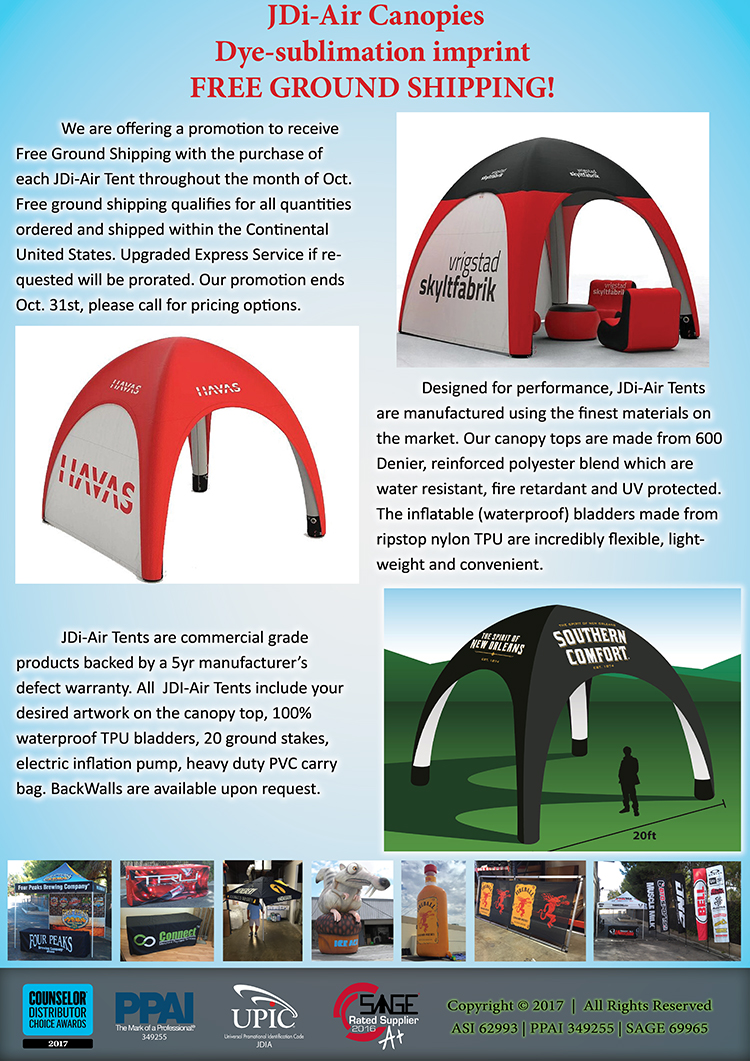 PromoOffers - Event Tents from J D  Inflatable Advertising