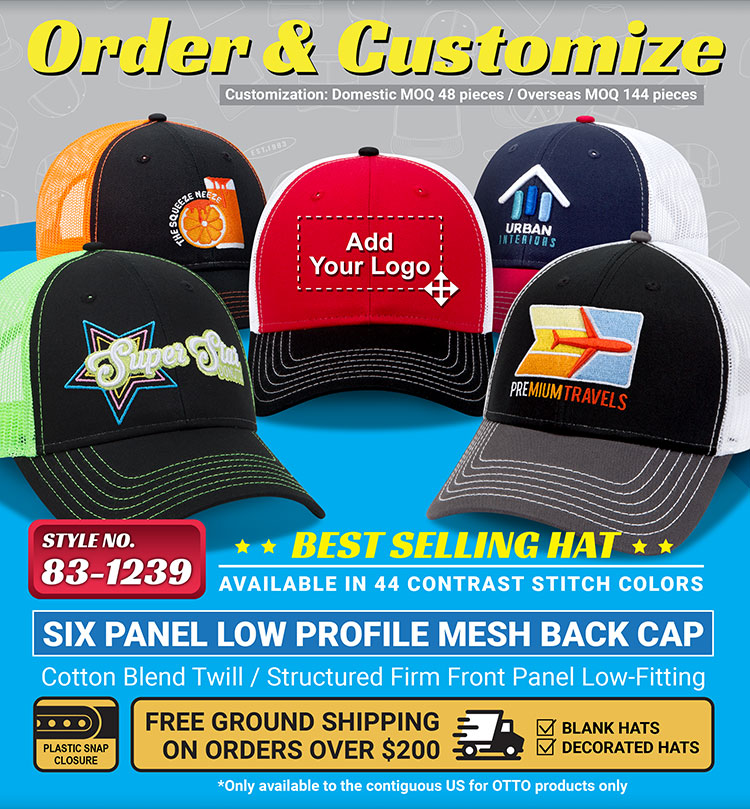 ... a variety of styles—including a trucker d7c63c2560e5
