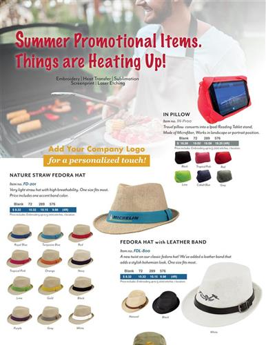 Summer Promotional Items. Things Are Heating Up!