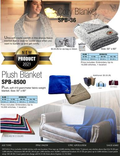 Cozy, Plush Blankets
