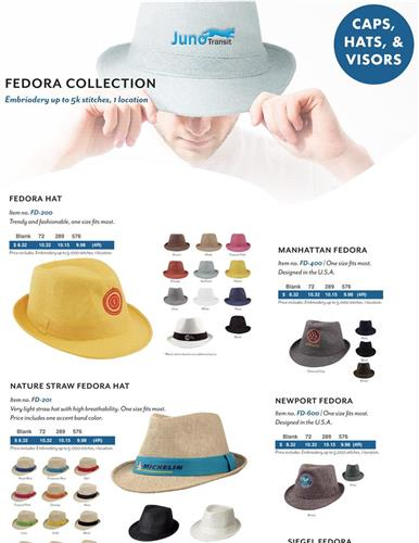 Promotional Items Summer Hats