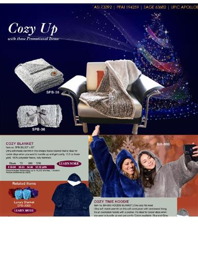 Cozy Time With These Promotional Products