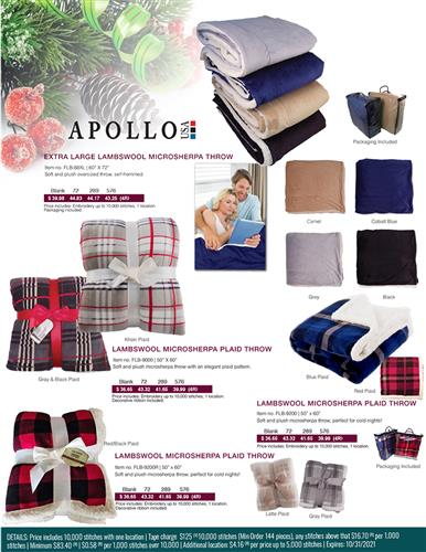 Blankets for those holiday gifts