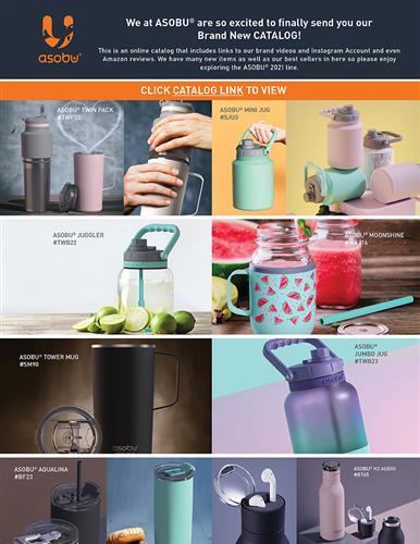 Explore the ASOBU® 2021 Catalog