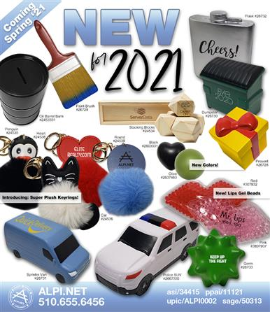 New Items for 2021