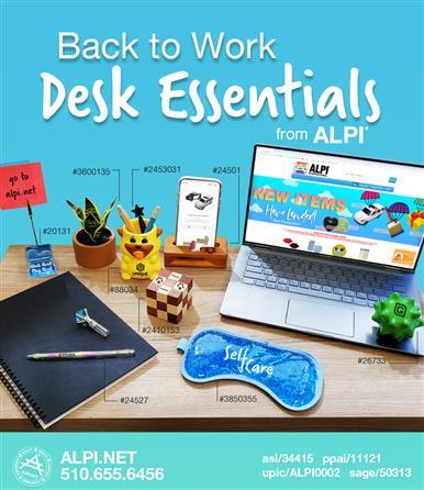 Back to Work Desk Essentials