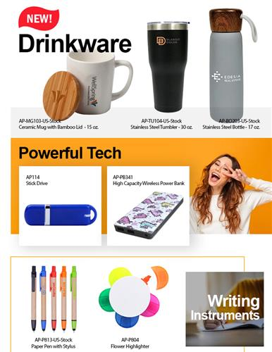HOT! All New Stainless Steel Drinkware Order Now & Save Big!