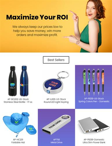HOT! New LED Keyrings, Foldable Hats, Tech promos & PPE Products. Order Today!
