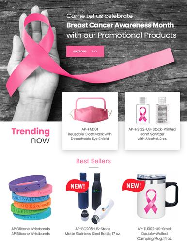 Save Big on Breast Cancer Awareness Promotional Products!