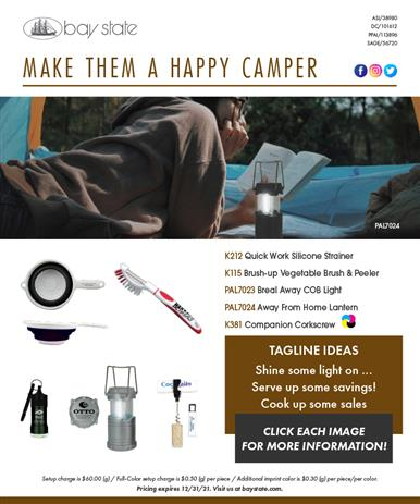 Make Your Customers Happy Campers