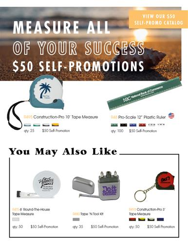 $50 Self-Promos To Measure Your Success