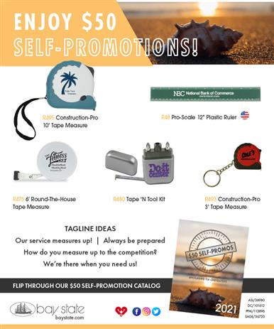 $50 Self-Promotions