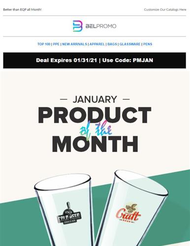 January Product of the Month from Bel Promo