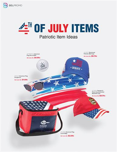 Patriotic Items for the 4th of July
