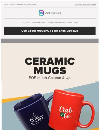 Get EQP  On Ceramic Mugs  - Shop Now
