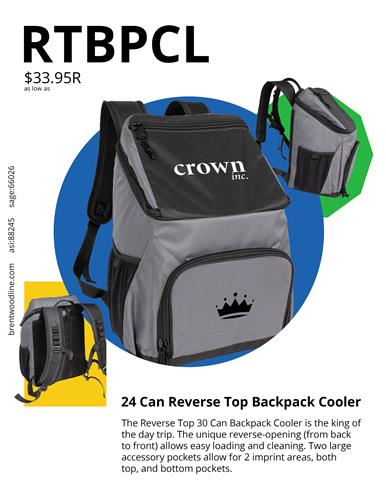 Fresh ideas for spring 2021! Backpack coolers are perfect for spring sports!
