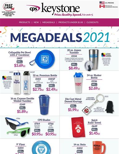 2021 Megadeals are here!