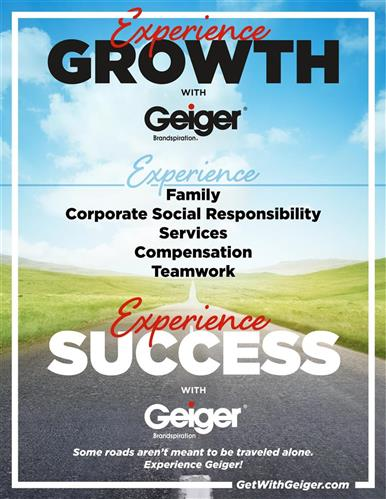 Experience Growth with Geiger