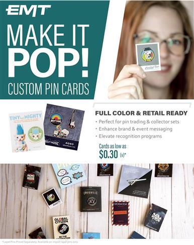Custom Pin Cards