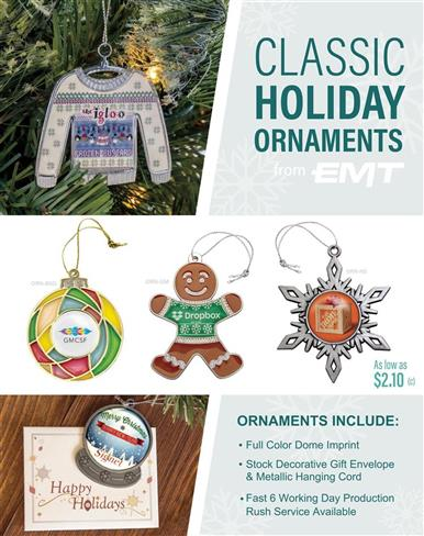 Holiday Ornaments in 6 Working Days