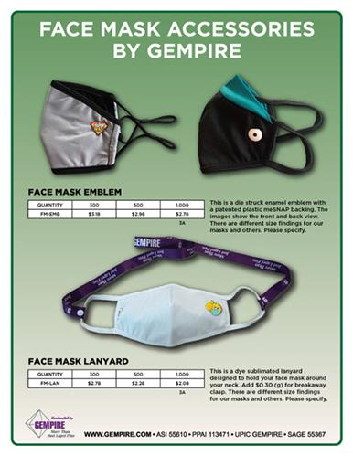 Face Mask Accessories by GEMPIRE