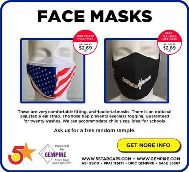 Face Masks - Ideal for Schools!