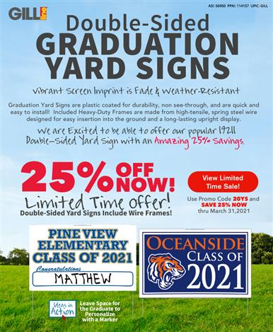 Save Big on Yard Signs for a Limited Time!
