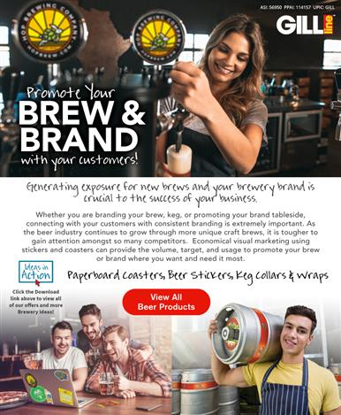 Make a Splash with Popular Brewery Products!