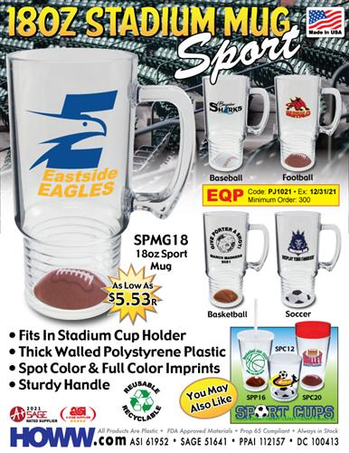 Have A Ball! Unique Sport Mugs - Made in the USA