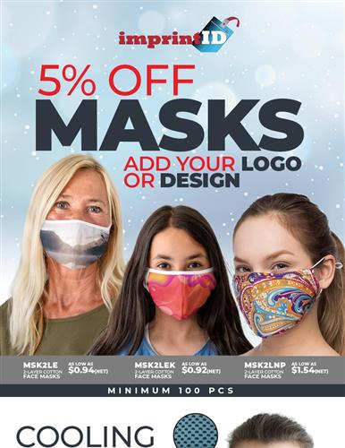 5% off Masks, NQP on Apparel and More Savings Inside!