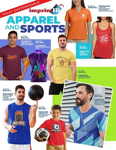 Fully Customizable - Apparel & Sports