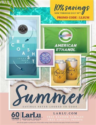 Save 10% During The LarLu Summer Sale