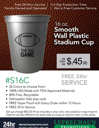 In Time for Game Time with FREE 24 Hr Svc
