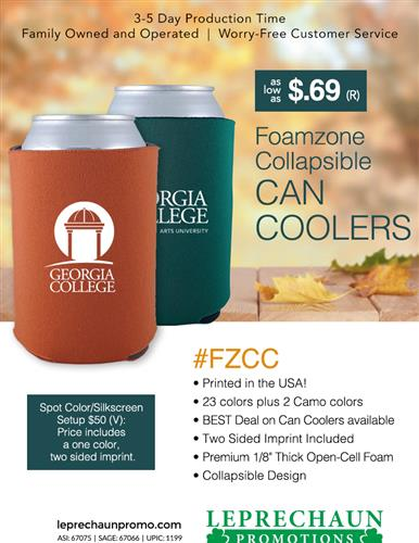 America's Best Can Cooler, More Colors at the Best Price from Leprechaun