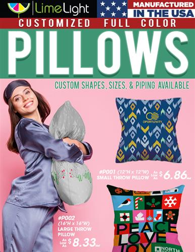 It is that Time of Year to Order Promotional Pillows