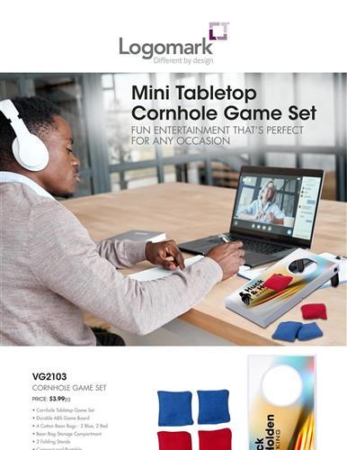 Mais Cornhole Game Set by Logomark