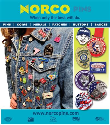 When Only The Best Will Do, Norco Pins!