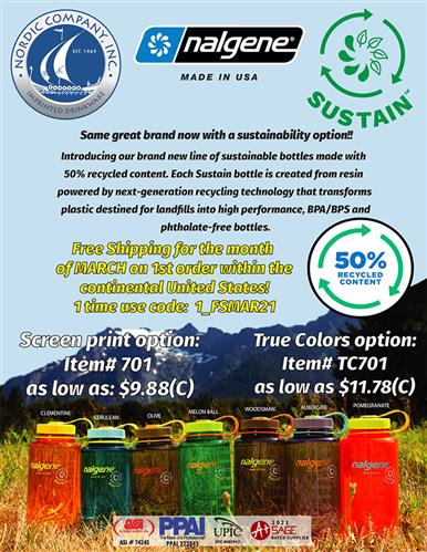 New Nalgene Sustain Bottles!