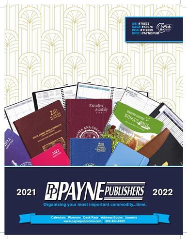 Payne Publishers 2021-2022 Catalog