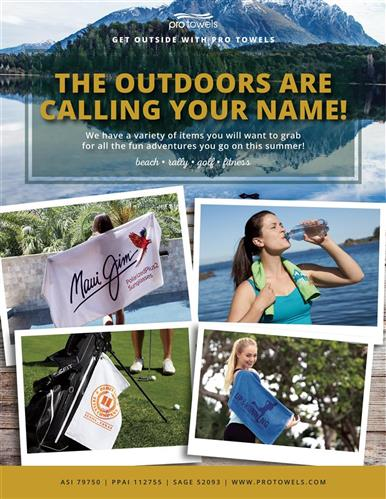 The outdoors are calling your name!