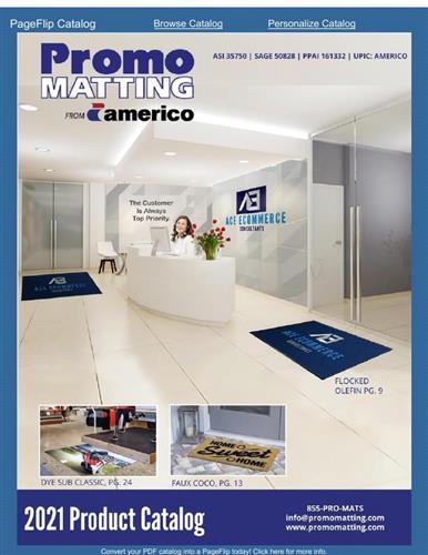 PromoMatting/ Americo 2021 Catalog