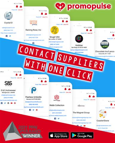Contact suppliers with one click! ☝️