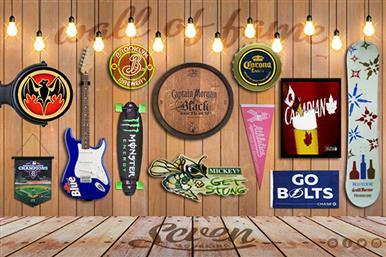 Wall of Fame Custom Signage, Displays & Neon