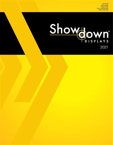 Showdown Displays 2021 Catalog