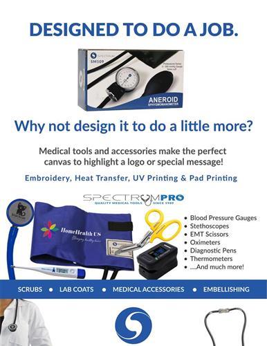 Let medical tools be brand ambassadors!
