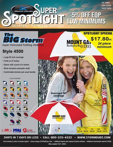 Super Oversized Folding Umbrella 5% Off EQP