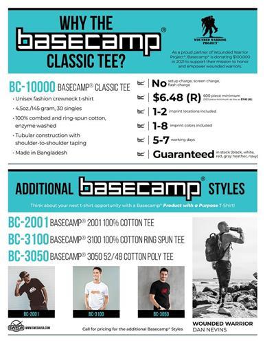 Why the basecamp classic tee?